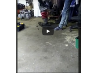 Ремонт виброплита переборка двигателя и проверка