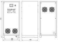 Трехфазный стабилизатор напряжения LIDER PS 22 SQ C-40 22,5 кВа