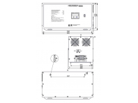 Трехфазный стабилизатор напряжения LIDER PS 9 SQ-C-15 9 кВа
