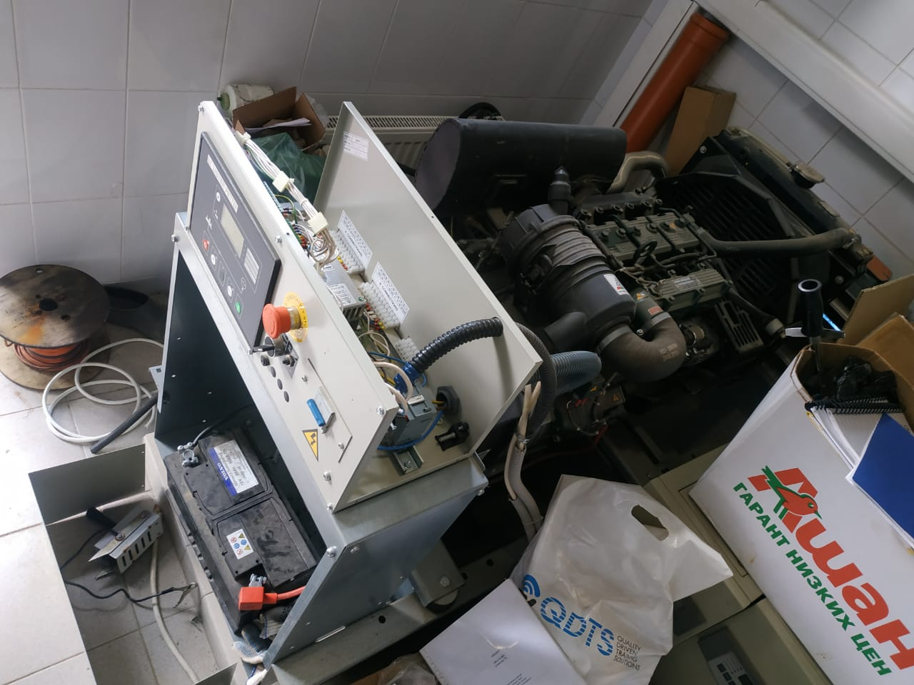 Ремонт автоматики дизель генератора в г. Лобня