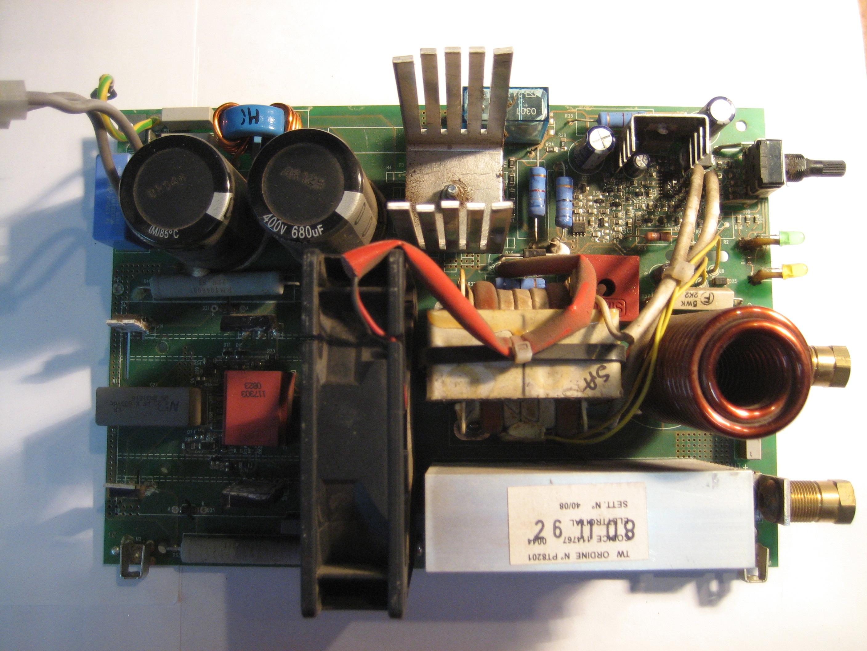 Плата управления от сварочного аппарата с вентилятором